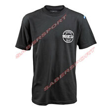 """""""IN STOCK"""" AUTHENTIC SPARCO APPAREL """"SEAL"""" T-SHIRT BLACK - SIZE- X-SMALL"""