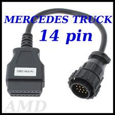 Vw Lt 14 pin de diagnóstico de cables Volkswagen Lt Ii Para Autocom Delphi Opus Eclipse