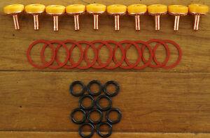 30 Piece Tap Washer Kit Delaware Soft Turn Jumper Valves O Rings EC Body Washers