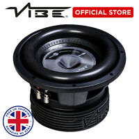 "Vibe Blackair 10"" Car Stereo Audio 1800W Peak Bass Sub SQL Subwoofer Speaker"