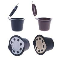 3pcs/Set Kaffee Kapseln Für nespresso Nachfüllbar Wiederverwendbar Filter #R