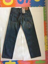 Levis Jeans 550 Relaxed Fit Tapered leg Denim Jean Big Boy - W27 x L29