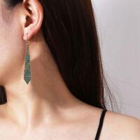 Retro Ethnic India Antique Dangle Drop Earring Women Jewelry Accessory