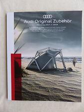 Audi Original Zubehör 2017 / 2018 - Katalog Prospekt Brochure 01.2017