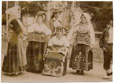 Paranello spinete Campobasso Basilicata Trachten Original 1908 s828