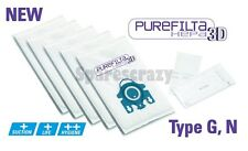 To fit Miele Type G N H Purefilta HEPA 3D Bag & Filter Pack (5) S800i to S899i