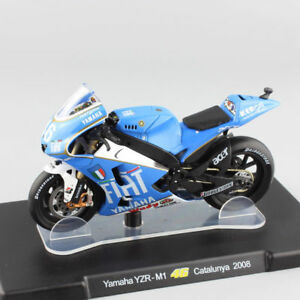 IXO-Altaia 1/18 Yamaha YZR-M1 Motorcycle Vehicle Model ROSSI # 46 Motorbike Toy