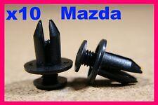 Mazda 10 porte carte Fascia trim panel fastener Clips