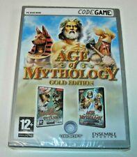 Age of Mythology Gold Edition PC DVD ROM (edición española precintado)