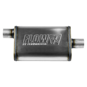 Flowmaster FlowFX Muffler 409S - 2.25 Offset In/ 2.25 Center Out - Moderate Soun