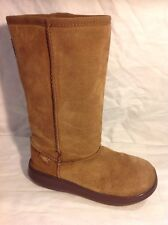 Rocket Dog Brown Mid Calf Suede Boots Size 3