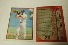 1989 Bowman #26 Roger Clemens, Boston Red Sox, Nice Card Sharp w/ fake autograph