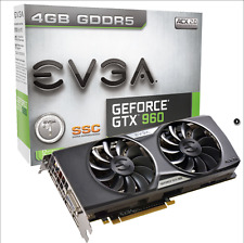 EVGA GeForce GTX 960 4GB SSC GAMING ACX 2.0+ Video Card, Whisper Silent Cooling