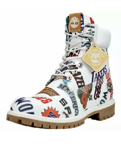 """TIMBERLAND MITCHELL & NESS X NBA """"EAST MEETS WEST"""" 6-INCH PREMIUM A1UD6 10.5"""