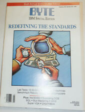 Byte Magazine Redefining The Standards January 1990 111314R