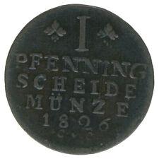 Braunschweig, 1 Pfennig 1826, A43444