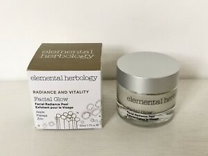 Elemental Herbology Facial Glow Facial Radiance Peel 50ml NEW IN BOX RRP £42