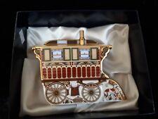 ROYAL CROWN DERBY PAPERWEIGHT -Burton Wagon Wagon Limited Edition