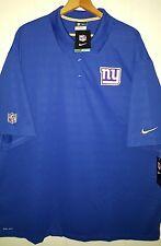 Nike NFL NY Giants Jersey Polo Shirt: 4XL (NWT) 657016-495