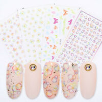 3D Nagel Aufkleber Nail Stickers Blase Self-adhesive Transfer Decals Dekoration