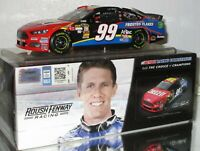 2013 CARL EDWARDS #99 CHEEZ-IT AUTOGRAPHED 1/24 CAR#497/672 PHOTO OF SIGNING