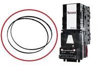 Coinco Vantage dollar bill validator acceptor belt Kit - 2 large belts vending