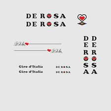De Rosa Giro d'Italia Bicycle Decals, Transfers, Stickers n.5