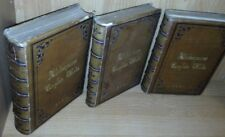 Complete Works Shakespeare 3 Volumes Full Leather Original Text 1861