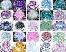 100g/77,00€ - Glitter Glitzer Glimmer Mix Irisierend Hologramm  NEU