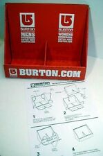 BURTON snowboard 2003 catalog dealer display Mint Condition New Old Stock Rare