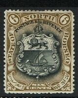 North Borneo SG# 101a, Mint Hinged, Hinge Remnant - Lot 112316