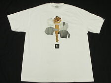 NEW Mens Akomplice T-Shirt Urban Graphic Print Tee White *Made In USA Sz XL M458