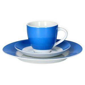 Van Well Kaffeeservice 18tlg 6 Personen Vario Porzellan Farbe wählbar Service