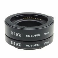 Meike Auto Focus Extension Tube for Sony E-Mount NEX-7 NEX-6 NEX-5N/R NEX-F3 A7
