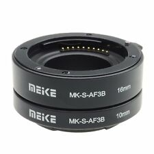 Meike Auto Focus Extension Tube Close Shot Adapter for Sony E-Mount NEX-7 NEX-6