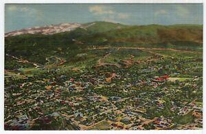 Air View Of Santa Fe, New Mexico