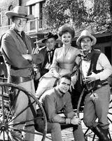 Western TV Show GUNSMOKE Glossy 8x10 Photo Ken Curtis James Arness Burt Reynolds