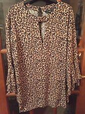 Size 22 Leopard Print Top
