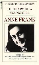 The Diary of a Young Girl: The Definitive Edition by Mirjam Pressler, Otto Frank, Anne Frank (Paperback, 1997)