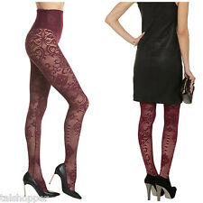 Yummie Tummie Bernadette Lace Leggings Port Hose Shapewear Ultra SEXY NWT L $79