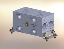Hydraulic manifold A5P23S // AD05P023S // BM-ASP05S3-02-1/Z // BAO5GPS02SDUAAAA