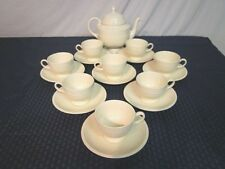 "Wedgwood ""Edme"" Coffee/Tea Service for 8. 18 Pieces. Perfect."