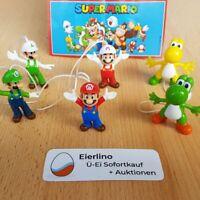 NEU: Komplettsatz Super Mario aus Kinder Joy (Ferrero) SNES Nintendo GameBoy N64