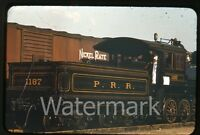1950s red border Kodachrome Photo slide Pennyslvania exhibition railroad train 5