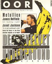 MAGAZINE OOR 1993 nr. 11 - DEPECHE MODE / METALLICA / VELVET UNDERGROUND