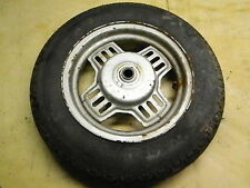 83 Yamaha CV50 CV 50 Riva scooter rear back wheel rim tire