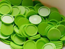 250 Einkaufswagenchips Wertmarken Getränkemarken mit Griffrand | Farbe: grün