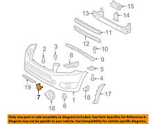 TOYOTA OEM 06-08 RAV4 Front Bumper-Tow Hook Eye Cover Right 5328542930