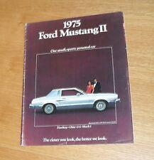 Ford imustang 2 FOLLETO 1974-1975 - mach 1 2+2 Ghia Hardtop