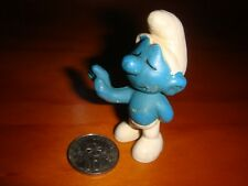 Small Smurf Collectible Toy, Nice Used, Made in Hong Kong